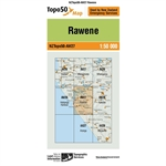 LINZ Topo50 - AW27 Rawene-maps-Living Simply Auckland Ltd