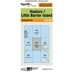 LINZ Topo50 - AY33 Hauturu / Little Barrier Island-linz topo50-Living Simply Auckland Ltd