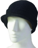 McDonald - Possum Merino Cap With Peak-winter hats-Living Simply Auckland Ltd
