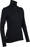 Icebreaker - Tech Top Long Sleeve Half Zip Women's-merino-Living Simply Auckland Ltd