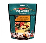 Back Country Cuisine - Mexican Chicken 2 Serve-2 serve meals-Living Simply Auckland Ltd