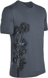 Icebreaker - Tech T Lite Stus Tree Men's-merino-Living Simply Auckland Ltd