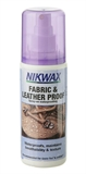 Nikwax - Fabric & Leather Proof 125ml Spray On-care products-Living Simply Auckland Ltd