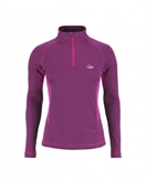 Lowe Alpine - Dryflo Ziptop 150 Women's-baselayer (thermals)-Living Simply Auckland Ltd