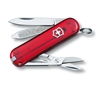 Victorinox - Classic Transparent Red-knives & multi-tools-Living Simply Auckland Ltd