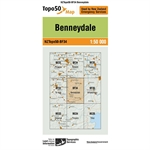 LINZ Topo50 - BF34 Benneydale-linz topo50-Living Simply Auckland Ltd
