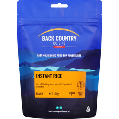 Back Country Cuisine - Instant Rice 160g