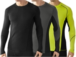 Smartwool - Men's 195 NTS long sleeve crew-baselayer (thermals)-Living Simply Auckland Ltd
