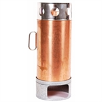 Copper Thermette-stoves-Living Simply Auckland Ltd