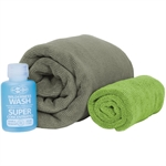 Sea To Summit - Tek Towel Wash Kit-travel accessories-Living Simply Auckland Ltd