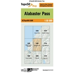 LINZ Topo50 - CA09 Alabaster Pass-maps-Living Simply Auckland Ltd