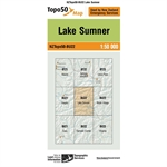 LINZ Topo50 - BU22 Lake Sumner-maps-Living Simply Auckland Ltd