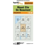 LINZ Topo50 - BX16 Mount Elie De Beaumont-maps-Living Simply Auckland Ltd