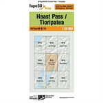 LINZ Topo50 - BZ13 Haast Pass-maps-Living Simply Auckland Ltd
