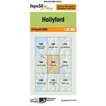 LINZ Topo50 - CB09 Hollyford-maps-Living Simply Auckland Ltd
