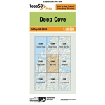 LINZ Topo50 - CD06 Deep Cove-linz topo50-Living Simply Auckland Ltd