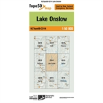 LINZ Topo50 - CD14 Lake Onslow-maps-Living Simply Auckland Ltd