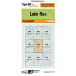 LINZ Topo50 - CE06 Lake Roe-maps-Living Simply Auckland Ltd
