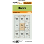 LINZ Topo50 - BJ33 Raetihi-maps-Living Simply Auckland Ltd