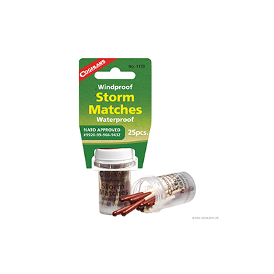 Coghlans - Windproof/Waterproof Storm Matches