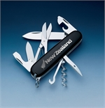 Victorinox - Climber Black Silver Fern-knives & multi-tools-Living Simply Auckland Ltd