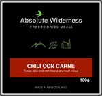 Absolute Wilderness - Chili Con Carne -freeze dried-Living Simply Auckland Ltd