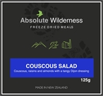 Absolute Wilderness - Couscous Salad-freeze dried-Living Simply Auckland Ltd
