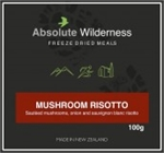 Absolute Wilderness - Mushroom Risotto-freeze dried-Living Simply Auckland Ltd