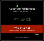 Absolute Wilderness - Tom Kha Gai -freeze dried-Living Simply Auckland Ltd