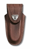 Victorinox - 91mm Brown Leather Pouch-knives & multi-tools-Living Simply Auckland Ltd