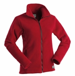 Earth Sea Sky Lava Jacket Women's-fleece-Living Simply Auckland Ltd