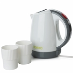 Korjo - Travel Jug with 2 Cups-travel accessories-Living Simply Auckland Ltd