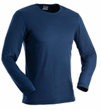 Earth Sea Sky Silk Weight LS Crew Men's-shirts-Living Simply Auckland Ltd