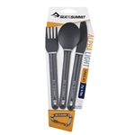 Sea To Summit - Alphalight Cutlery 3 Piece Set-equipment-Living Simply Auckland Ltd