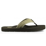 Teva - Mush II Canvas Jandal-sandals-Living Simply Auckland Ltd