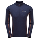 Montane - Dart Zip Neck Men's-baselayer (thermals)-Living Simply Auckland Ltd