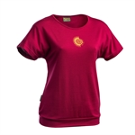 Earth Sea Sky - Swift Merino Tee Women's-merino-Living Simply Auckland Ltd