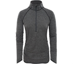 The North Face - Women's Motivation Stripe 1/2 Zip-clothing-Living Simply Auckland Ltd