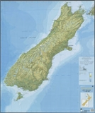 LINZ - South Island Map 1:1000000-maps-Living Simply Auckland Ltd