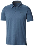 Columbia - Tech Trail Polo Men's-shirts-Living Simply Auckland Ltd