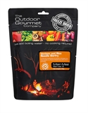 Outdoor Gourmet - Venison and Rice Noodle Stirfry-2 serve meals-Living Simply Auckland Ltd