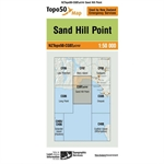 LINZ Topo50 - CG07ptCF07 Sand Hill Point-maps-Living Simply Auckland Ltd
