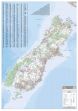 Hema - South Island 1:1000000 Map-maps-Living Simply Auckland Ltd