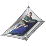Sea to Summit - Pyramid Nano Mosquito Net Single-hiking accessories-Living Simply Auckland Ltd