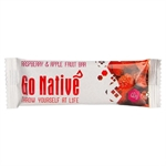 Go Native - Raspberry and Apple Fruit Bar 40g-energy & snacks-Living Simply Auckland Ltd
