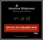Absolute Wilderness - Apples On Creamed Rice 100g-food-Living Simply Auckland Ltd
