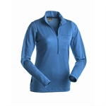 Earth Sea Sky - Power Wool Zip Polo L/S Men's-baselayer (thermals)-Living Simply Auckland Ltd