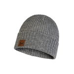 Buff - Knitted Hat Rutger Melange Grey-winter hats-Living Simply Auckland Ltd