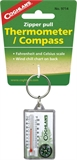 Coghlans - Zipper Thermometer/Compass-navigation & safety-Living Simply Auckland Ltd