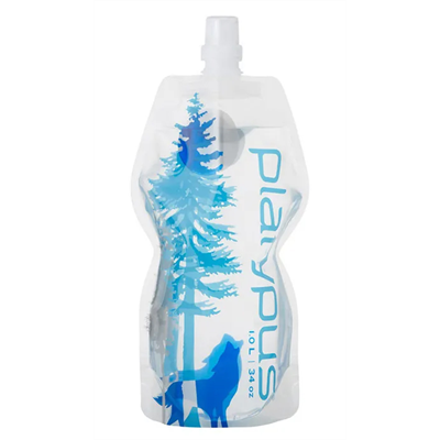 Platypus - SoftBottle 1L Push-Pull Cap Wild Blue